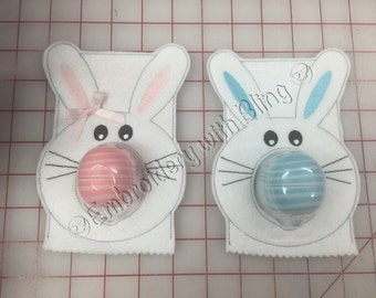 EOS Lip Balm Holders  Easter Bunny, Snowman or Reindeer.