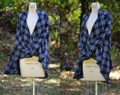 Free Bird Flannel Cardigan / Flannel Shirt / Plaid Sweater / Flannel Coat / Nursing Robe / Flannel Robe / Fall Fashion for her / NEW COLOR