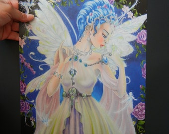 POSTER   Fairy Queen  Copic/colored pencils
