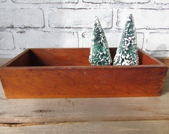 Wooden Drawer Vintage Wood Box