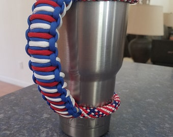 Ozark Trail 40 oz Stayin True to the Red, White and Blue paracord handle