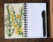 "Spiral Notebook Tartuensis College ""Summer"", Recycled Book Journal"