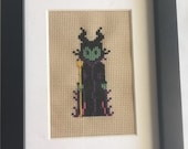 Meleficent cross stitch