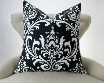 Black And White Polka Dot Pillow Cover Many Sizes Decorative