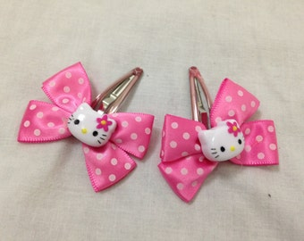 hello kitty hair clips