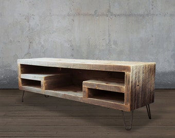 Reclaimed Wood Media Console, Television Stand