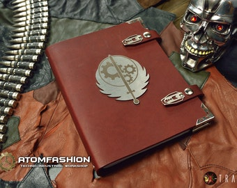 Brotherhood of Steel writing-book inspired by Fallout game