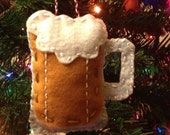 Beer Mug Holiday Ornament