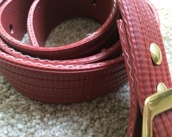 Fire hose belt -- custom size