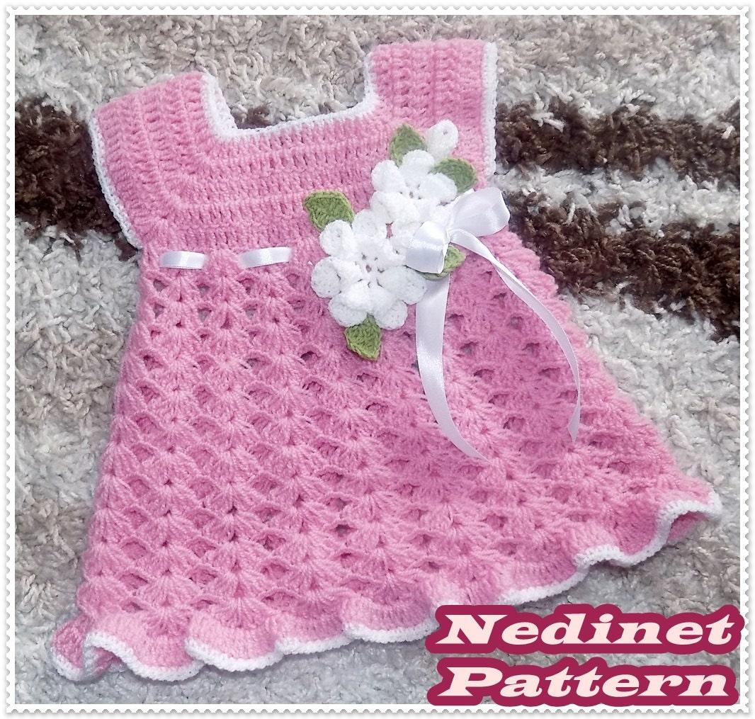 Crochet baby dress pattern crochet baby girl dress pattern