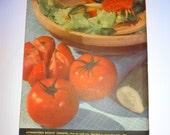 Vintage 1936 Livingston Seed Annual, Columbus, Ohio, Flowers, and Vegetables