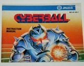 Cyberball Nintendo NES - Instruction Manual Only