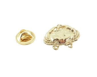 Gold ~ Crab ~ Mini - Pin ~ AG151MP