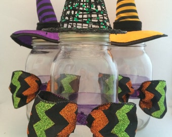 Halloween Mason Jar Decorations