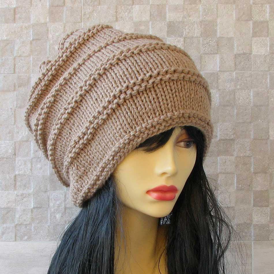 Knitting Pattern For Dreadlock Hat : Dreadlock Hat Dread Tam Hand Knit Mens Hat Dreadlock