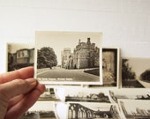 Windsor Castle. 12 Vintage Black & White Snapshots.  Antique Souvenir Photographs. Original Cover.