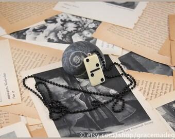 Vintage Domino Charm