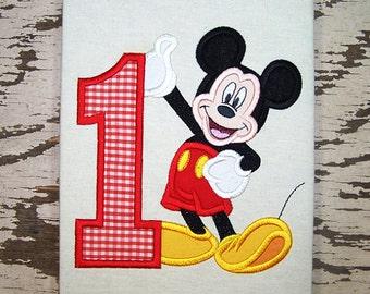 Boy Mouse Disney-Inspired Birthday Shirt - Custom Birthday Tee 737