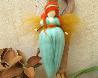 Women Empowerment, Fairy,Waldorf Fairy,Wool Fairy,Needle Felting,Faerie,Women Art,Women Birthday Gifts.
