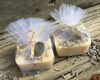 Elegant Bridal Shower Favors, Soap Wedding Favors, Bachelorette Party Favors, Lavender Milk Soap Favors 25