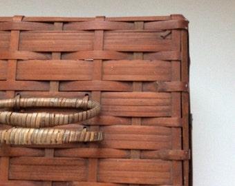 Antique Basket Picnic