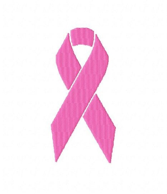 Machine Embroidery Design Awareness Ribbon