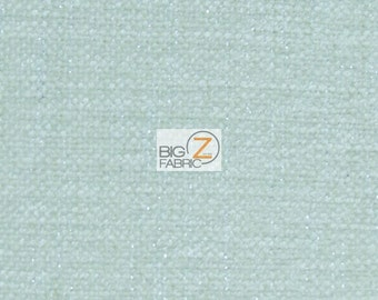 Sparkle Trend Chenille Upholstery Fabric - MIST - Sold By The Yard Drapery Clothing 40,000 Double Rubs
