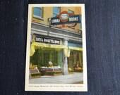 Vintage Souvenir Postcard ~  Fort William, Canada ~ Lorna Doone Tea Room ~ Famous Landmark Postcard ~ Colorized Postcard