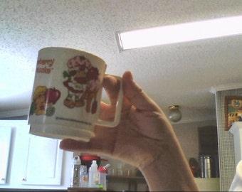1978 hallmark strawberry shortcake cup