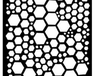 Ranger - Dyan Reaveley - Dylusions - Stencils - Honeycomb - Small