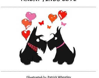 Archy the Scottie Dog Finds Love Book
