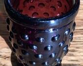 Vintage plum bud vase