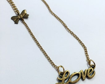 Vintage Love Necklace