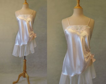 Pink Nightgown WIth Side Gathering