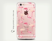 iPhone 7 Cases , Galaxy S7 Case , Clear Rubber Case , Clear Plastic Case , Transparent Case , iPhone 6 Case , iPhone 6 Plus Case , Flamingo