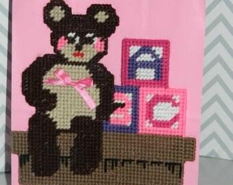 Teddy Bear ABC Gift Bag / Baby Girl Gift Bag / Baby Boy Gift Bag
