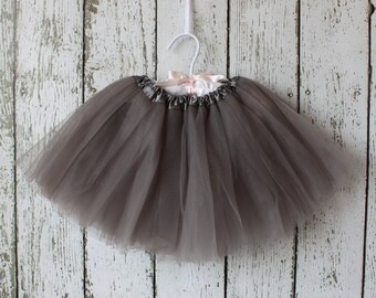 Grey SIGNATURE TUTU : The Paper Doll