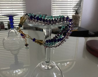 Czech Glass Multicolor Bracelet