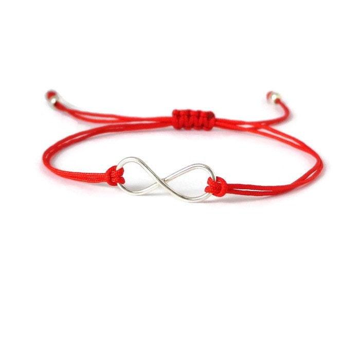Unisex Sterling Silver Infinity Bracelet Charm Bracelet Infinity