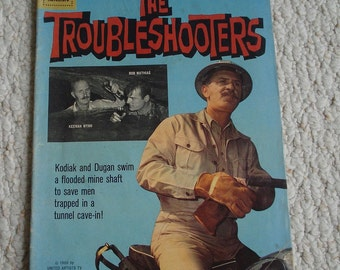 The Troubleshooters (Dell Four Color Comic #1108)  – 1960  Dell Comic,