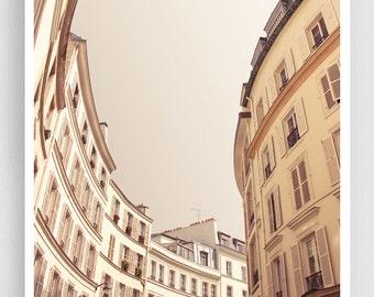 Paris photography - Rue Laferriere - Paris facade,Paris photo,Fine art photography,Paris decor,8x10,white,Fine art prints,Art Posters