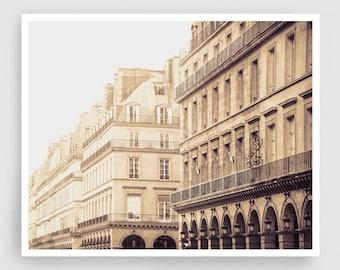 Paris photography - Rue Rivoli,Paris photo,Fine art photography,white,Paris decor,8x10 wall art,Fine art prints,Art Posters,Paris art