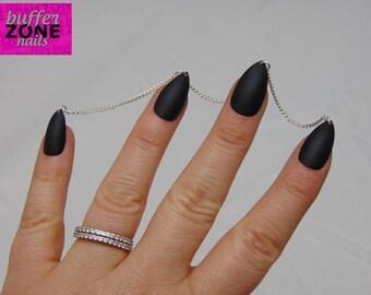 16.5cm Fine Chain Jewellery, Nail Piercing Web