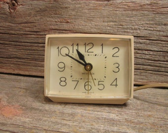 Vintage Westclox Alarm Clock Electric Clock