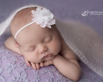 White Headbands, White Headband, Headband White, White Flower Headband, Baby Headbands, White Baby Headband, Wedding Headband
