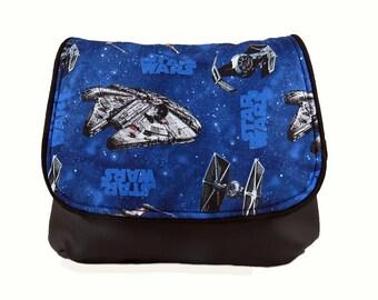 Star Wars Millenium Falcon X-Wing Figher Cross Body Kelsi II Cross Body Mini Messenger Purse