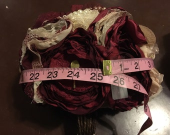 Medium bouquet, information on sizes of bouquets with pictures and measurments