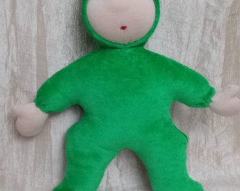 Waldorf style soft doll