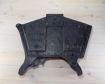 Cast Iron,Rustic Decor, Cast Coal Door, Industrial Decor, Photo Prop