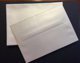 Set of 25 stardream envelopes opal metallic